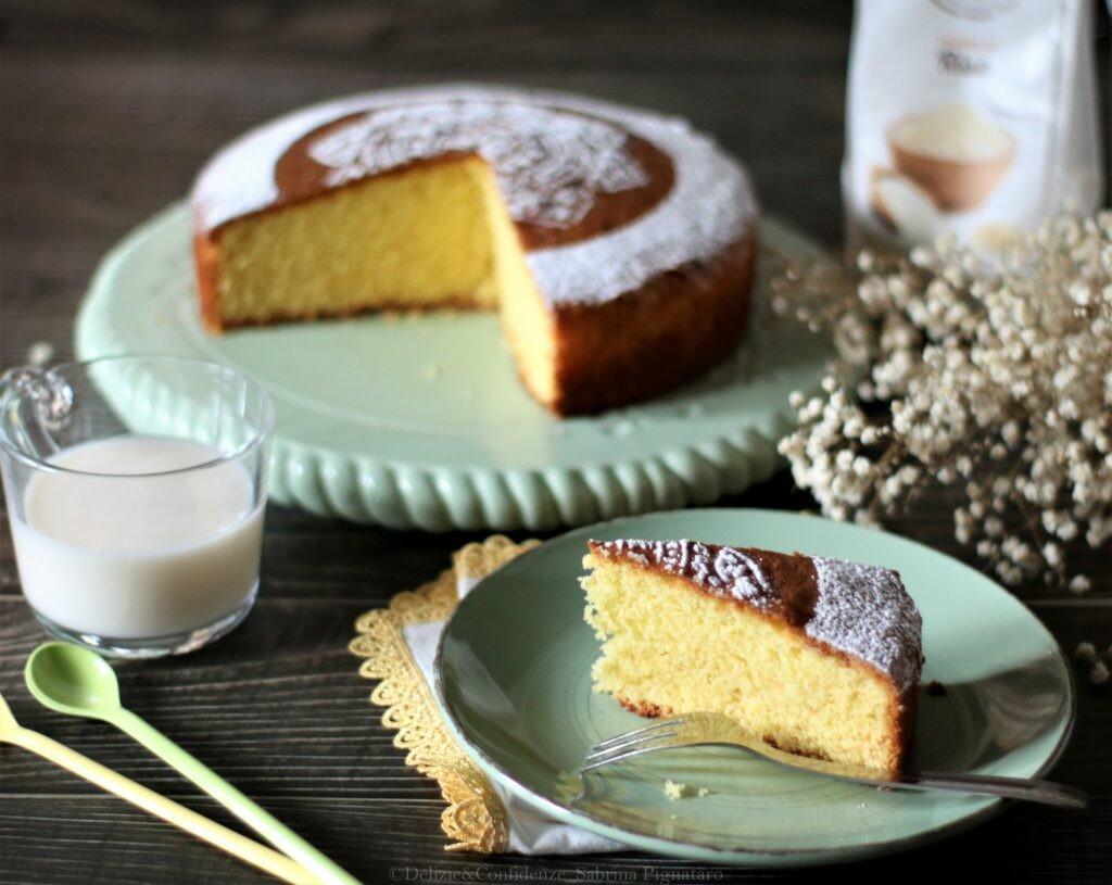 Torta con farina di riso e arancia | Farina di riso