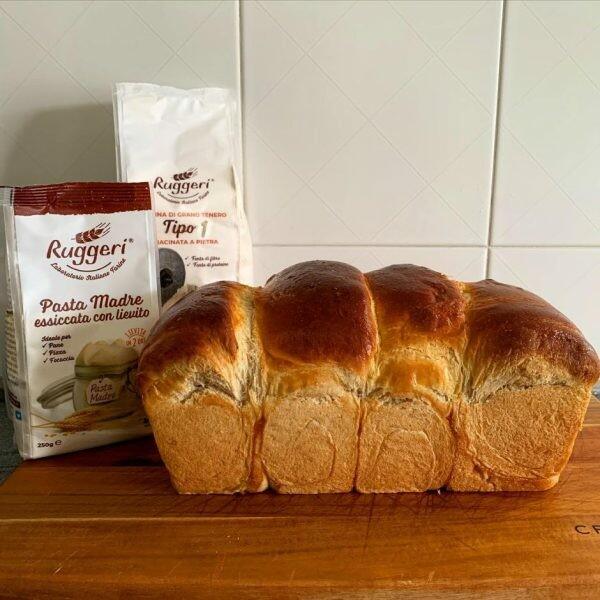 Pane al latte di Hokkaido | Pasta Madre Essiccata e Farina Tipo 1