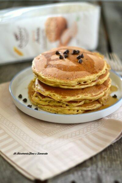 Pancake con farina di Avena | ricetta senza zucchero