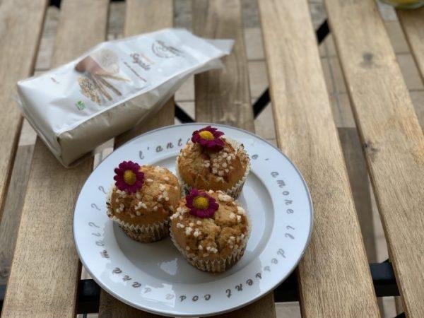 Muffin alla segale | Farina di Segale