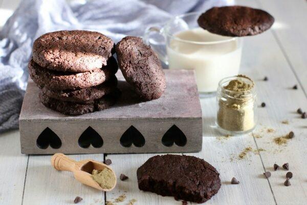 Cookies canapa e cacao | Farina di canapa Bio