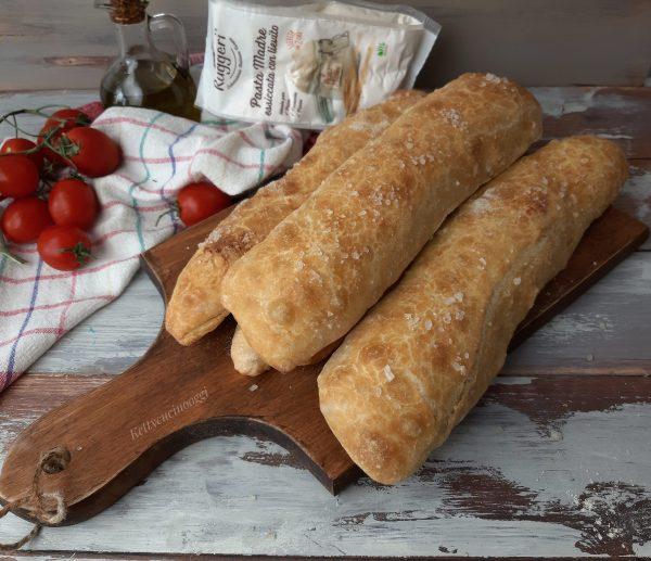 Stecche di pane senza impasto | Pasta Madre Essiccata